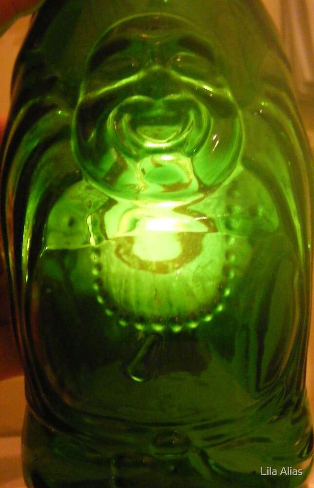 The Laughing Glass Buddha by Lila Alias