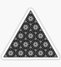 Triangle Tessellations  Sticker