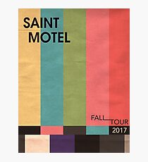 Saint Motel Tour Poster Photographic Print