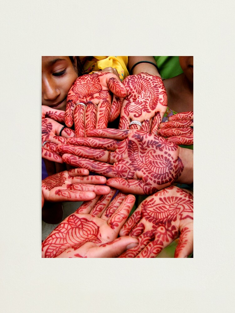 Alternate view of Henna Hands   (Limited Edition Print of 50) Photographic Print
