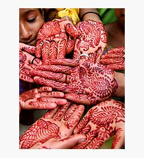 Henna Hands   (Limited Edition Print of 50) Photographic Print