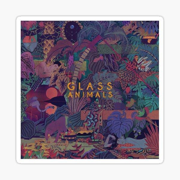 Glass Animals Zaba Sticker