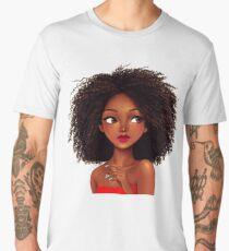 Black Girl - Black Queen Men's Premium T-Shirt