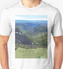 Vintage Travel Poster – Steens Mountain, Oregon T-Shirt
