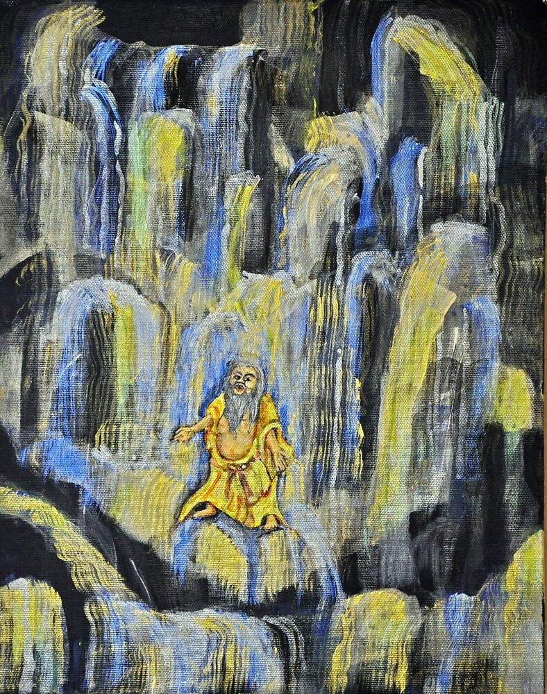 Laughing Buddha Presence by James Lewis Hamilton