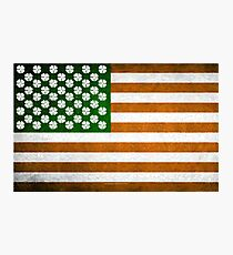 Irish American 015 Photographic Print