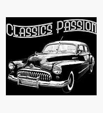 Classics Passion 005 Buick Eight Photographic Print