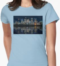 Ultra-wide Panorama of Sydney Waterfront Skyline T-Shirt
