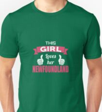 This Girl Loves Her Newfoundland T-Shirt