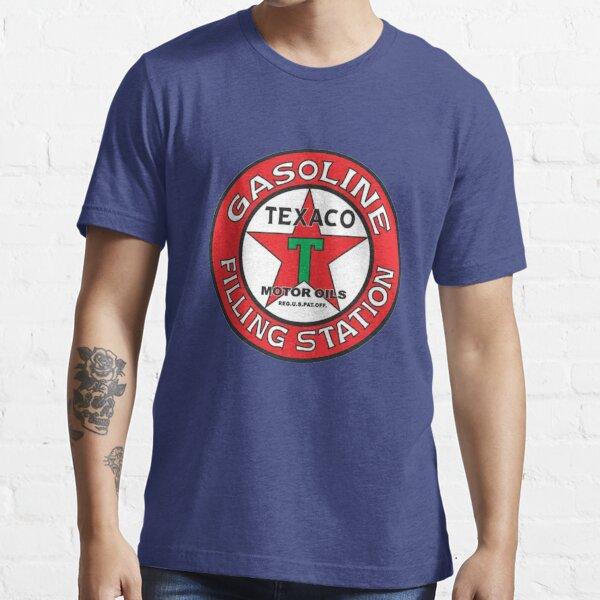 Vintage Texaco Gasoline Filling Station 00160 Essential T-Shirt