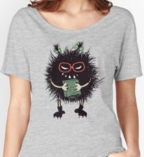 Evil Bug Student Loves Reading Women's Relaxed Fit T-Shirt