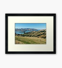 Akaroa, New Zealand Framed Print