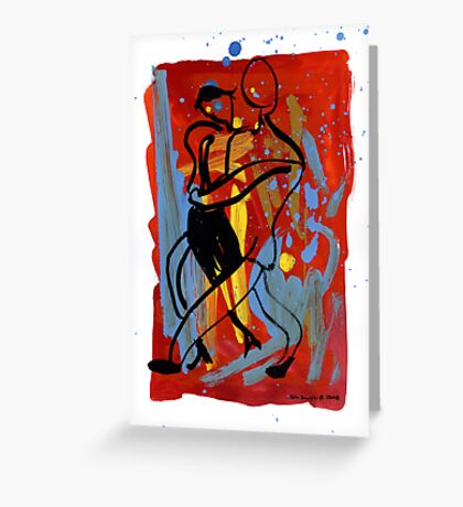 Tango 10 Greeting Card