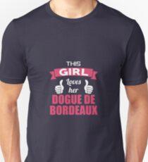 This Girl Loves Her Dogue De Bordeaux T-Shirt