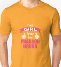 This Girl Loves Her Pharaoh Hound T-Shirt