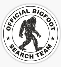 Official Bigfoot Search Team Sticker