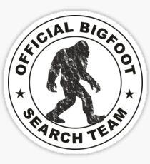 Offizielles Bigfoot-Suchteam Sticker