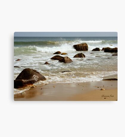 I Must Go Down to the Seas Again... Canvas Print