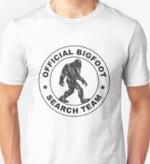 Official Bigfoot Search Team Unisex T-Shirt