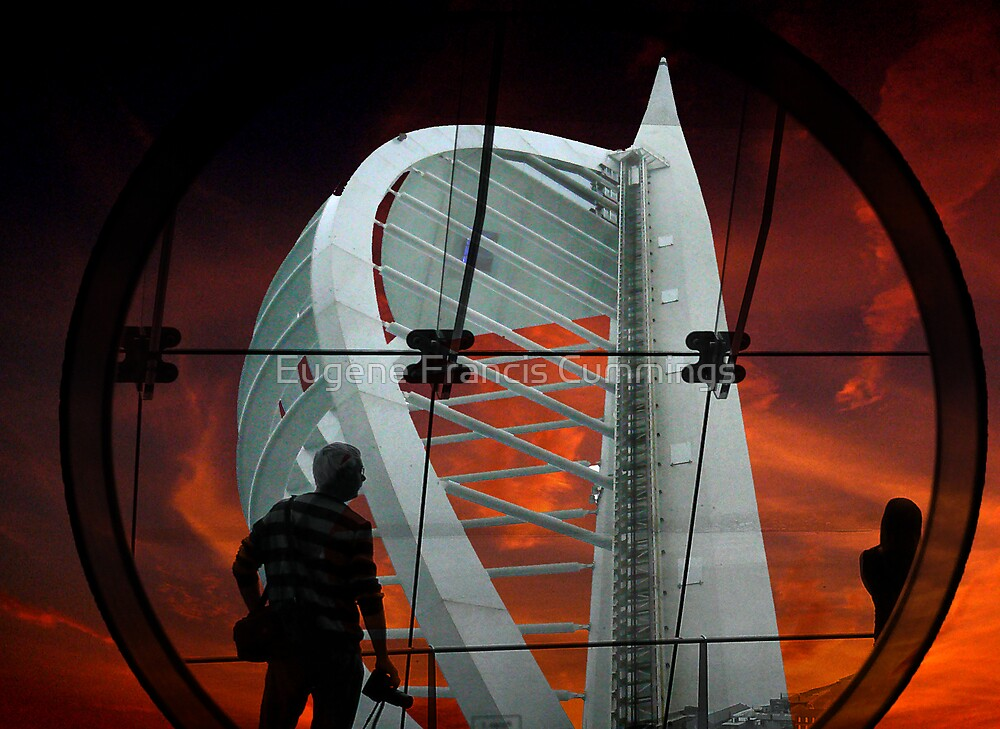 Spinnacker Tower Portsmouth England by Eugene Francis Cummings