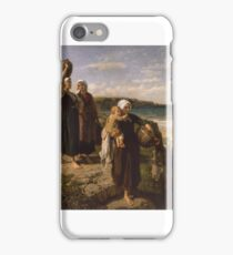 A Spring by the Sea, - Jules Breton,  iPhone Case/Skin