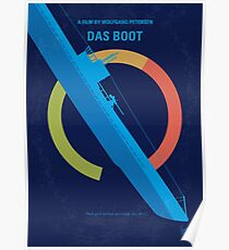 No553- Das Boot minimal movie poster Poster