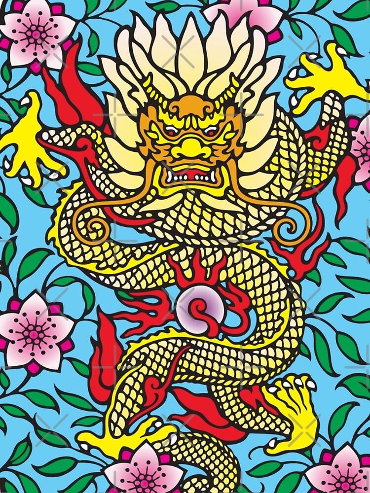 Chinese Dragon by SherDigiScraps