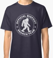 Official Bigfoot Search Team Classic T-Shirt
