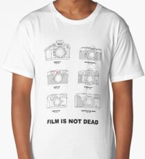 Film Is Not Dead - Vintage Film Photography Long T-Shirt