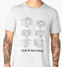 Film Is Not Dead - Vintage Film Photography Men's Premium T-Shirt