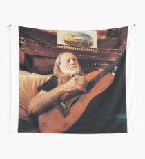 Willie Nelson Wall Tapestry