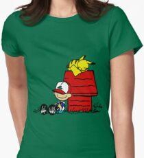 Peanuts/Pokemon T-Shirt
