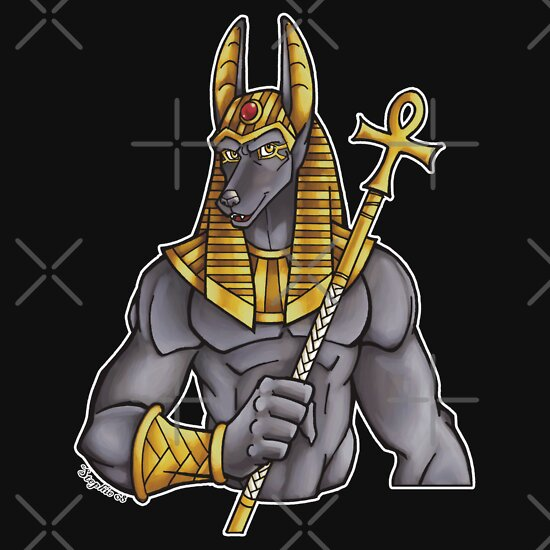 TShirtGifter presents: Anubis Egyptian God