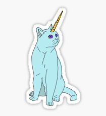 Uni Cat - Baby Blue Sticker