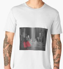 Girl with a Red Cape Men's Premium T-Shirt