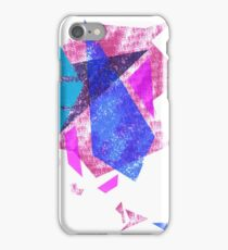 Abstract coloured polygons iPhone Case/Skin