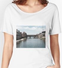 Ponte Vecchio, Florence Women's Relaxed Fit T-Shirt