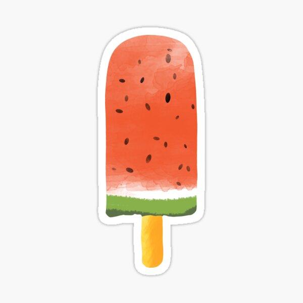 Watermelon Popsicle #redbubble #decor #buyart Sticker