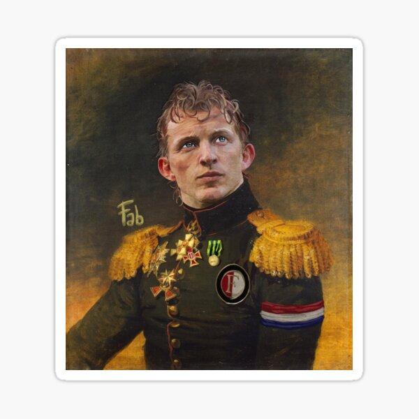 Dirk Kuyt  Meester van Feyenoord Sticker