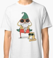 Wizard and Cat Classic T-Shirt