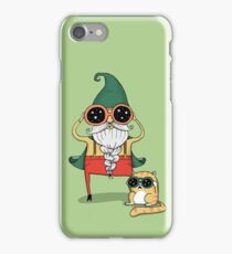 Wizard and Cat iPhone Case/Skin