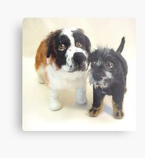 Pups Metal Print