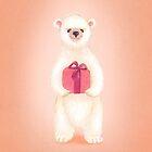 Polly the generous polar bear by EllenLambrichts