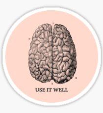 Use it well Sticker