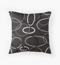 Cool Ovals Throw Pillow