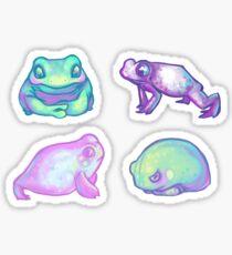 Silent Pastel Friends Sticker