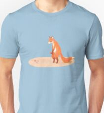 Felix the frolicking fox plays with his marbles T-Shirt