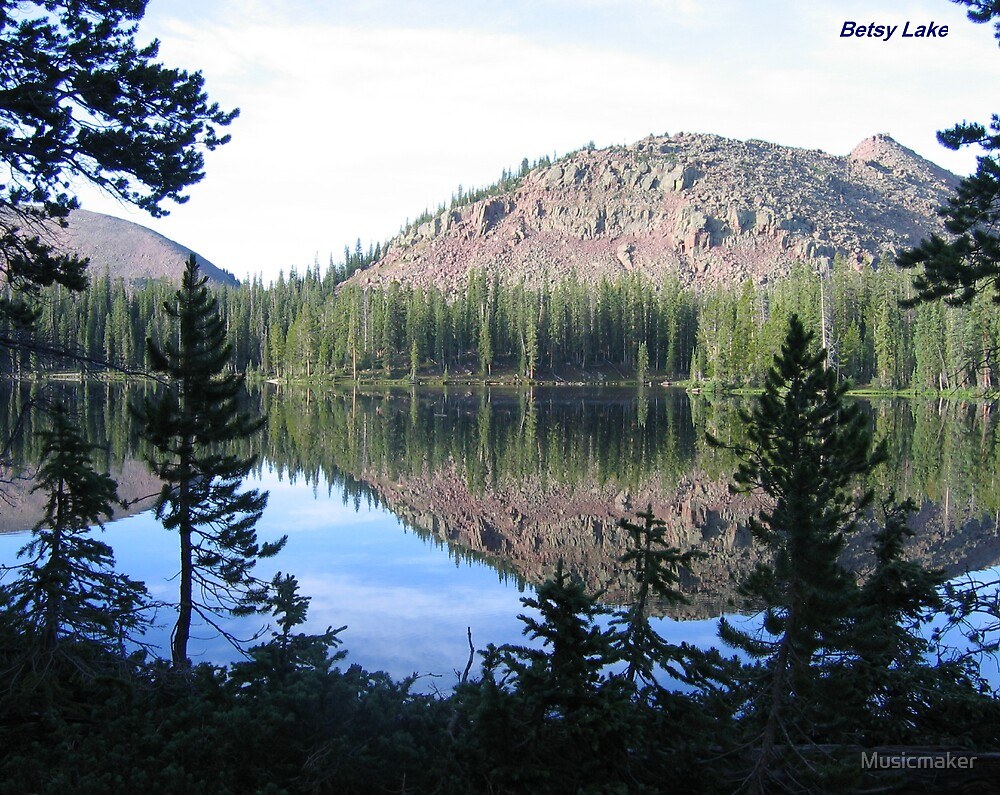 In the Grand Daddy lake region of Utah by Musicmaker