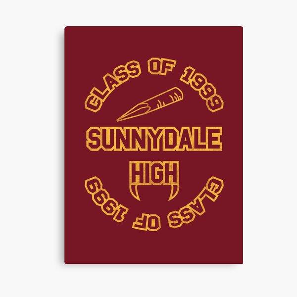 Sunnydale Class of 1999 Canvas Print