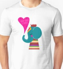 rapping hip hop series - elephant, also see goat, unicorn, octopus T-Shirt